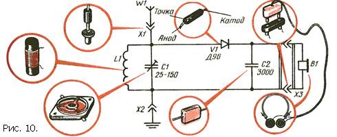 Простейший радиоприёмник