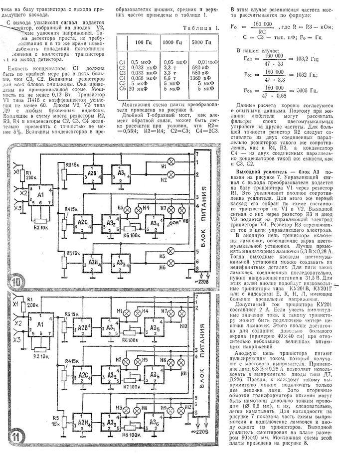 Схема и конструкция ВОУ [10]